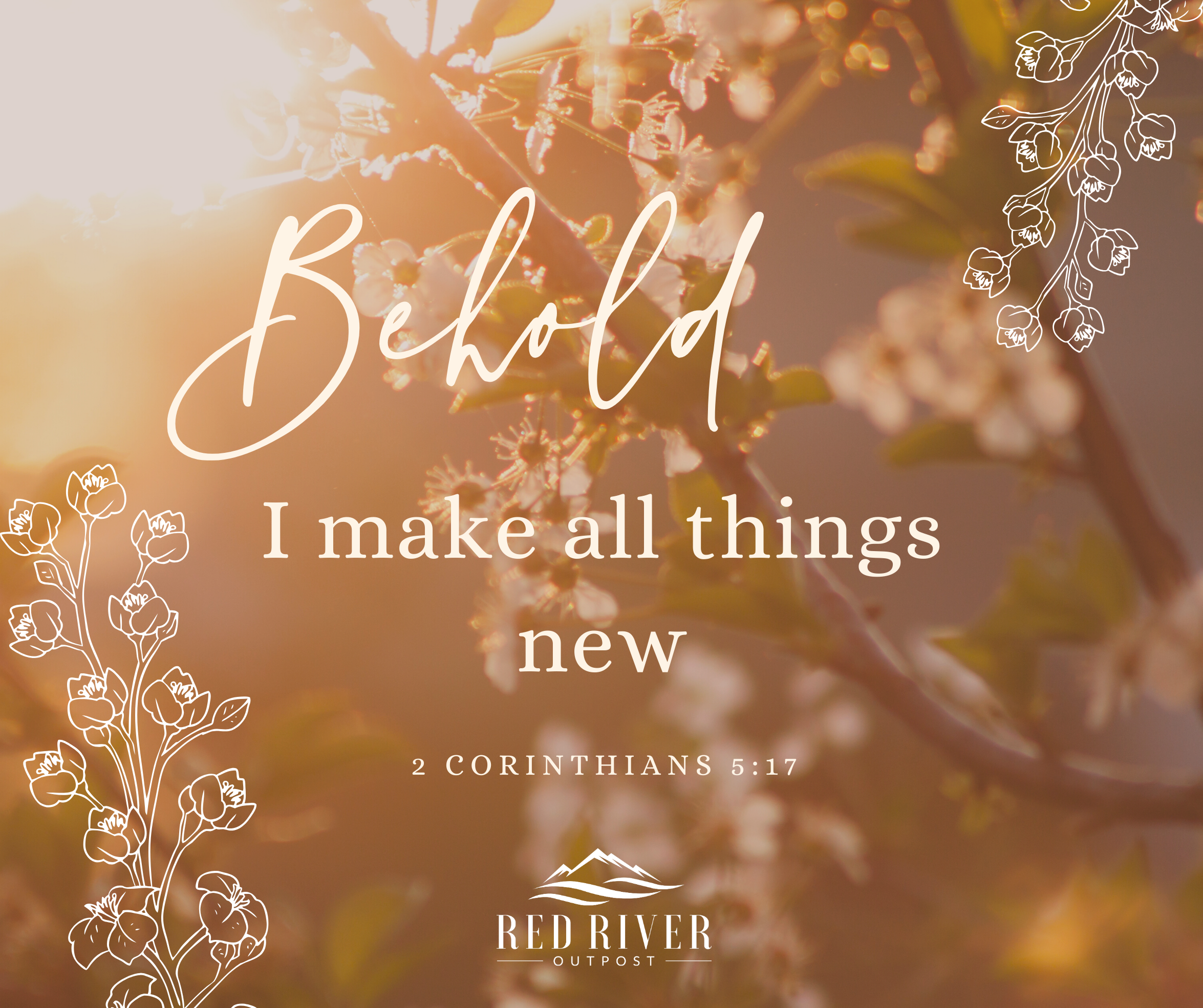 behold I make all things new
